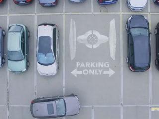 REAL · Parkplatz